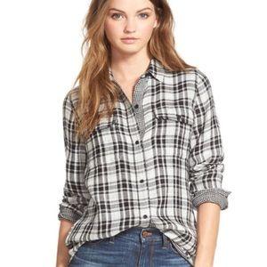 Madewell Kemp Ex-Boyfriend Shirt Oversized